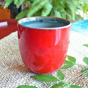 湯飲み コップ(小) レッドシアター「陽炎」 ギフト  贈り物 お誕生日プレゼント 還暦祝い【陶房 京千】|merusa