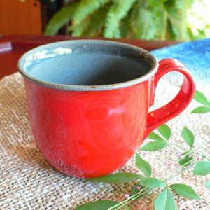 マグカップ レッドシアター「陽炎」 ギフト  贈り物 お誕生日プレゼント 還暦祝い【陶房 京千】|merusa
