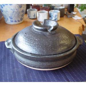 土鍋 9号 (3〜5人用) 信楽焼土なべ|merusa