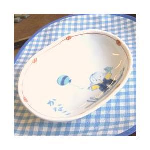 【出産祝・内祝】子どものうつわ 小判皿|merusa