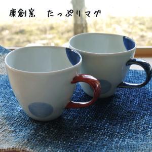 【誕生日 結婚 お祝】 二色丸紋たっぷりマグ|merusa