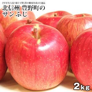 北信州産 豊野町 ワケあり 樹上 完熟 サンふじ リンゴ 約2kg 5〜8玉 箱購入で1kgおまけ 箱購入で2箱おまけ 送料無料