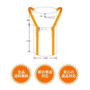 【10枚1セット】コンテナバッグ(フレコンバッグ)再生20% 丸型 meshsheet