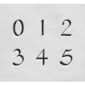彫金用 Celtic Numbers*飾り文字数字刻印セット 革/レザークラフトにも*ImpressArt