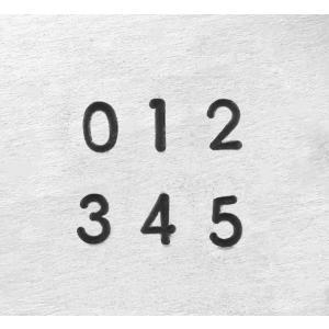 彫金用 Deco Numbers1.5mm*飾り文字数字刻印セット 革/レザークラフトにも*ImpressArt