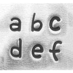 彫金用 Juniper Low*小文字英語アルファベット刻印セット 革/レザークラフトにも*ImpressArt