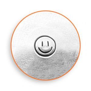 【予約】彫金刻印 Smiley Face 3mm*スマイル 革細工/レザークラフトにも*ImpressArt