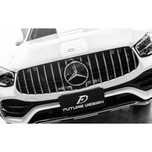 BENZ メルセデス・ベンツ GLC W253 X253 C253 後期車 専用 パナメリカーナ GT R メッキ仕様 センターグリル AMG GLC200 GLC220d|meteo88
