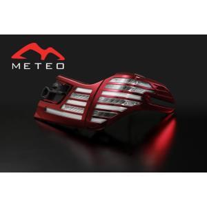 METE0 VELLFIRE ヴェルファイア 30系専用 ファイバーLEDテールランプ C-CARC メテオ|meteo88