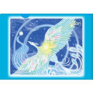 新作 オーラヴィジョンアート クリアファイル「青鳳凰」|meteor-color2