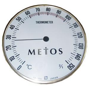 STM-C-300 温度計サウナ用 300φロゴ入り|metos