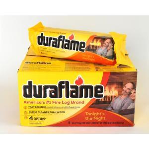 人工薪DF03 デュラフレームジャイアント(6本入) 暖炉、薪ストーブ用|metos