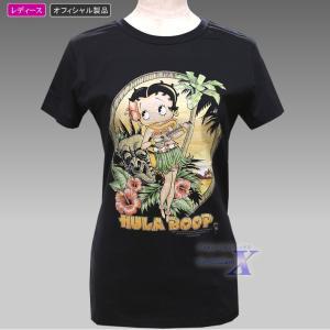 【ベティ・ブープ米国ライセンスTシャツ】レディース(フラブープ)|metrofashion