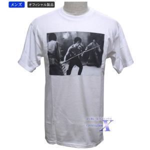【ブルースリー・オフィシャルTシャツ】メンズ(ホワイト)|metrofashion