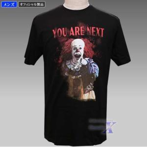 映画「IT イット』公式メンズTシャツ(ピエロ)|metrofashion