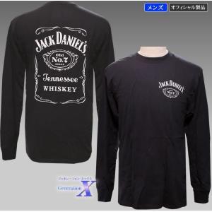 Jack Daniels ジャックダニエルズ公式メンズ長袖Tシャツ metrofashion