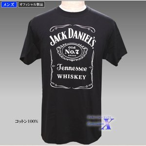Jack Daniels ジャックダニエルズ公式メンズTシャツ metrofashion