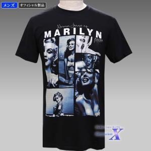 【マリリン・モンロー米国ライセンスTシャツ】メンズ(モザイク)|metrofashion