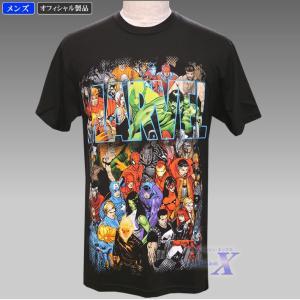 【マーベルコミック・オフィシャル製品】メンズTシャツ(オールスターズ)Marvel Comic|metrofashion