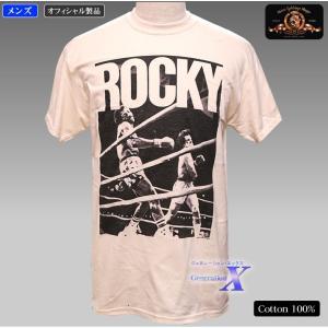 ロッキー公式 メンズTシャツ(ベストショット) シルベスター・スタローン|metrofashion