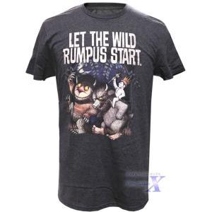 かいじゅうたちのいるところ米国公式メンズTシャツ(ランパス)|metrofashion