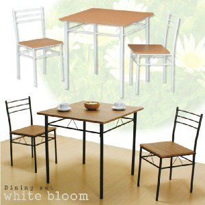 ダイニングセット ダイニングテーブル 3点セット 2人掛け|meuble