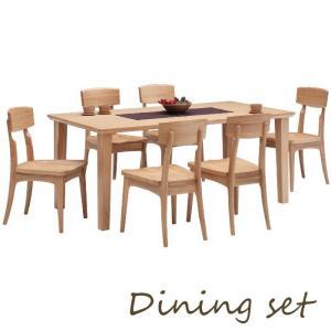 ダイニングセット ダイニングテーブルセット ダイニング7点セット 6人掛け テーブル170幅|meuble