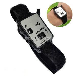 スコアカウンター 腕時計型 腕 巻く 得点 スコアキーパー ゴルフ用品 マジックテープ プレゼント ...