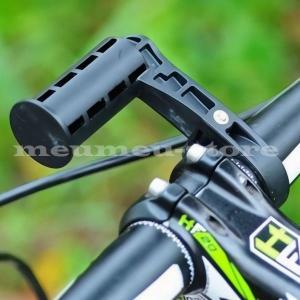 自転車用エクステンションバー 拡張ブラケット ハンドルバー拡張 多機能 自転車アクセサリー用 ヘッド...
