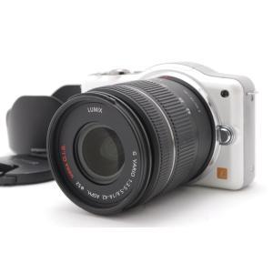 【中古】 ミラーレス一眼レフカメラ  パナソニック Panasonic DMC-GF3 ホワイト レ...