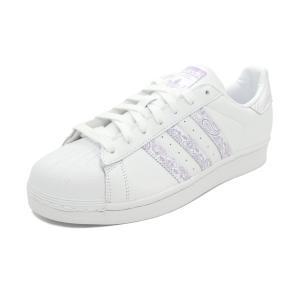 スニーカー アディダス adidas スーパースター ホワイト/パープル メンズ レディース シューズ 靴 19SS|mexico