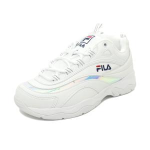 スニーカー フィラ FILA フィラレイプリズム ホワイト/プリズム シルバー メンズ レディース シューズ 靴 19SS mexico