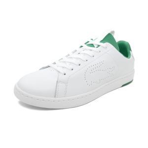 スニーカー ラコステ LACOSTE カーナビーエヴォライトWT1191SMA ホワイト/グリーン メンズ シューズ 靴 19SS|mexico
