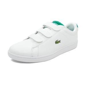スニーカー ラコステ LACOSTE カーナビーエヴォストラップ1193SMA ホワイト/グリーン メンズ シューズ 靴 19SS|mexico