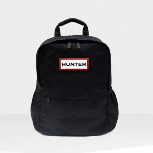 ハンター HUNTER オリジナルナイロンスモールバックパック ブラック|mexico