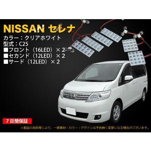 NISSAN C25セレナ専用 80灯ルームLEDセット mfactory-yashop