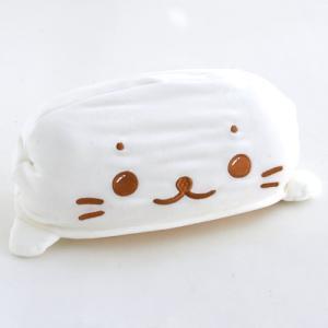 ★セール SALE★ しろたん ひざかけーぷ クッション Mサイズ|mg-sweet