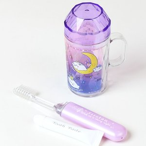 しろたん 星空柄 歯ブラシ セット|mg-sweet