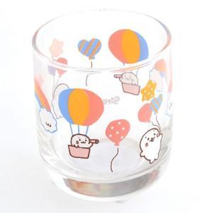 ★セール SALE★ しろたん 気球柄 厚底 ミニグラス mg-sweet