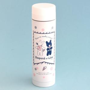 リサ&ガスパール アイス柄 スリムボトル 300ml mg-sweet