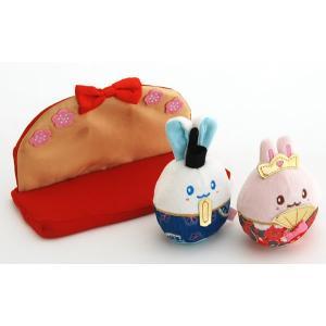 うさもも てのりん 雛人形セット|mg-sweet|02