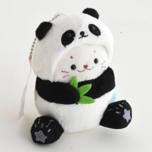 しろたん お座り パンダ キーホルダー