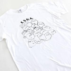 通販・一部店舗限定 しろたん つみつみ柄 Tシャツ 大人|mg-sweet