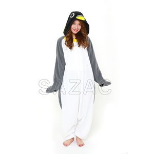 サザック フリースペンギン着ぐるみ フリーサイズ 2640〔代引き不可〕 トレード|mgbaby-shop