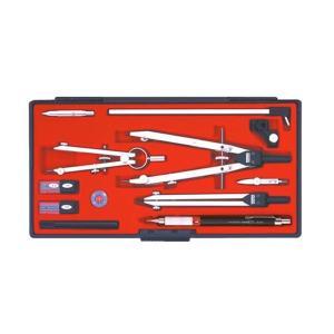 KD型製図器 QBセット QB13品組 1-730-7413〔代引き不可〕 トレード