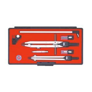 KD型製図器 QBセット QB9品組 010-0007〔代引き不可〕 トレード