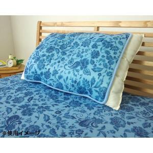 接触冷感 枕パッド 『ツインクール 枕パッド』 プリント 約40×50cm 1554679〔代引き不...