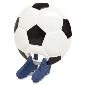 ビッグウエディングスプーン 趣味のシリーズ サッカーボール型スプーン 白黒 飾り台付〔代引き不可〕〔同梱不可〕 トレード|mgbaby-shop