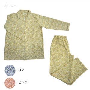 レディースパジャマ ニット楊柳 小花 Lサイズ 6001114〔代引き不可〕 トレード|mgbaby-shop