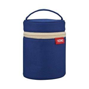 〔THERMOS サーモス〕 スープジャーポーチ/専用ポーチ 〔ネイビー NVY〕 0.25L以上〜...